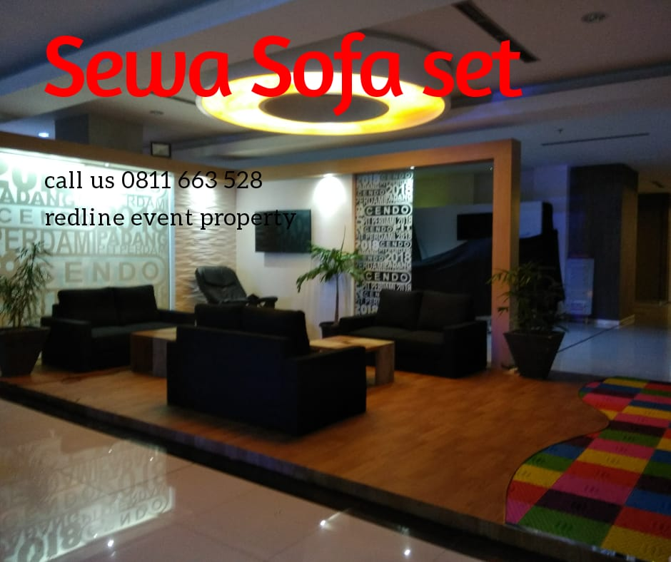Jasa Sewa Sofa Set